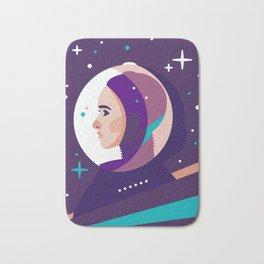 Space Girl Bath Mat