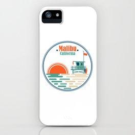 Malibu, California iPhone Case