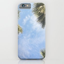 The sun and the palms iPhone Case
