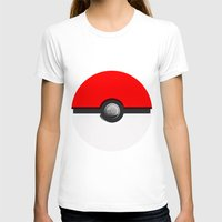 pokeball T-shirts featuring Pokeball by Studio Momo╰༼ ಠ益ಠ ༽