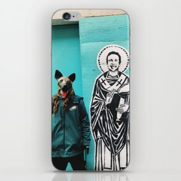 Saint Nick iPhone Skin