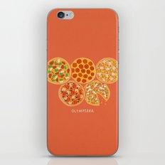 Olympizza iPhone & iPod Skin