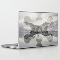 sacred geometry Laptop & iPad Skins featuring Sacred by Jemma Pope