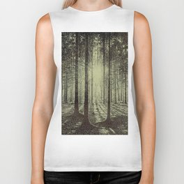 Victor Olgyay - Sunset - 1910 Sunrise Through Tree Forest Silhouette Biker Tank