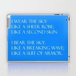 Summer air (blue) Laptop & iPad Skin