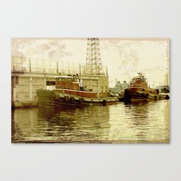 Tugboats Canvas Print