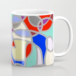 Stain Glass Abstract Meditation Painting 1 Coffee Mug