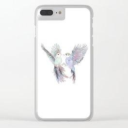 Wedding Birds #6 Clear iPhone Case