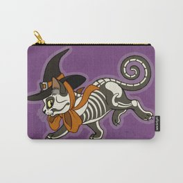 Halloween Witch Kitty Carry-All Pouch
