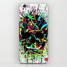 COLOUR SKULL  iPhone & iPod Skin