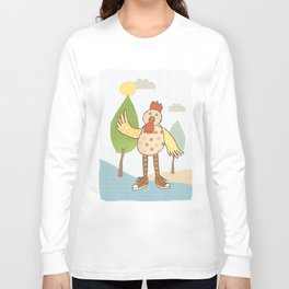 sunny rooster Long Sleeve T-shirt