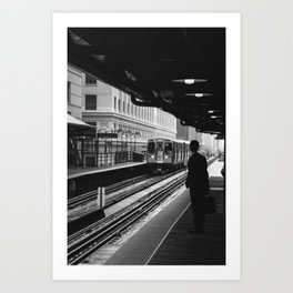 Chicago - Businessman Art Print