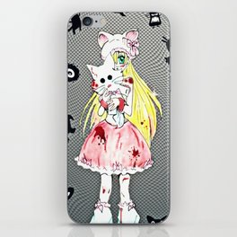 Pretty in Bloody Pink iPhone Skin