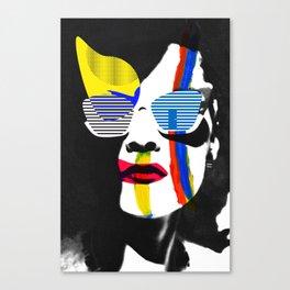 Vilena Vix Art Portrait Canvas Print