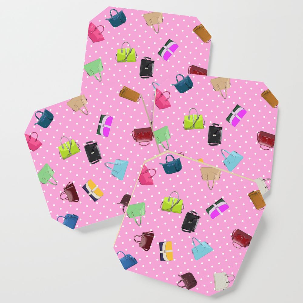 Purses and Handbags Coasters by gx9designs (S6C7303716) photo