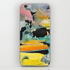 Abstract watercolour iPhone & iPod Skin