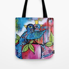 care birds Tote Bag