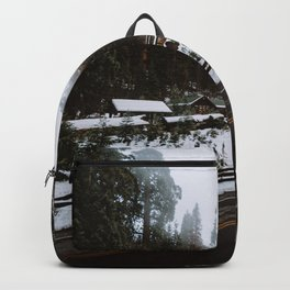 Winter in the Giant Forest Backpack