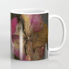 Vintage Hydrangea Petals Coffee Mug