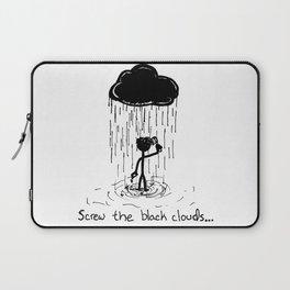 Turn that cloud, upside down! Laptop Sleeve
