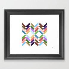 zig zag #25 Framed Art Print