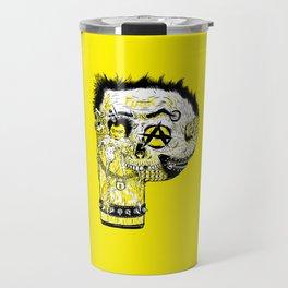 P – Punk Travel Mug