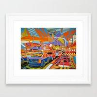 rio de janeiro Framed Art Prints featuring Rio de Janeiro by J.Victtor