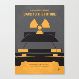 No183 My Back to the Future 1 mmp Canvas Print