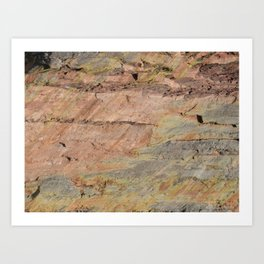 Colors of the Fountain Formation Art Print
