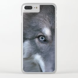 Universe Eye Clear iPhone Case