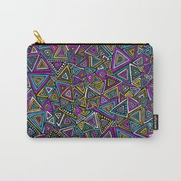 Tribal Triangles Carry-All Pouch