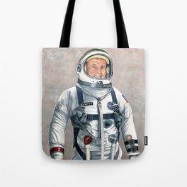 Ed White Tote Bag