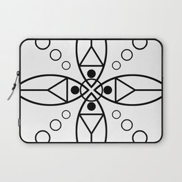 Ancient Religious Symbols Laptop Sleeve