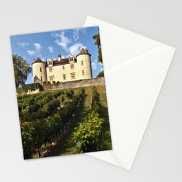 Medieval Castle in South West France Stationery Cards