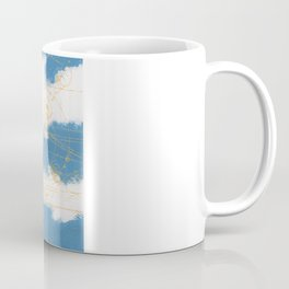 Cloud Chamber Coffee Mug