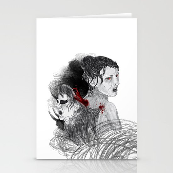 Black Swan II Stationery Cards