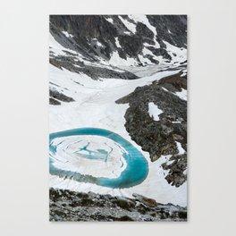 Lakes of Frémamorte Canvas Print
