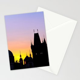 Sunrise at Karluv Most, Prague Stationery Cards