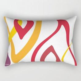 SALAMANDER- FIRE Rectangular Pillow