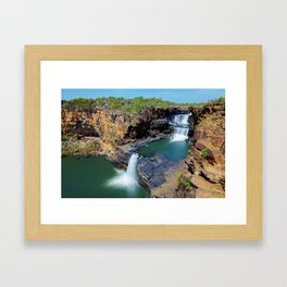 Mitchell Falls Framed Art Print