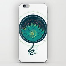Blue Lotus iPhone Skin