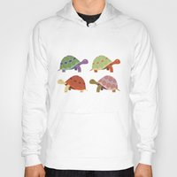 turtles Hoodies featuring Turtles by TypicalArtGuy
