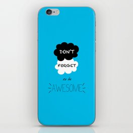 DFTBA TFIOS Nerdfighter Vlogbrothers Don't Forget to be Awesome, The Fault in Our Stars, John Green iPhone Skin