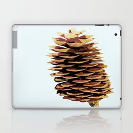 Simple Modern Pinecone Digital Art Laptop & iPad Skin
