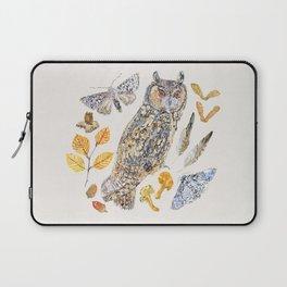Autumn Wildlife - Neutral Laptop Sleeve
