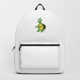 Cute Flossing Turtle Cool Turtles Floss Animal Art Backpack
