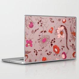 large floral print - pinks Laptop & iPad Skin