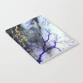 Marble through Tree Branches Notebook