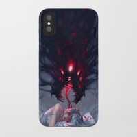 nightmare iPhone & iPod Cases featuring Nightmare by Team Ronin