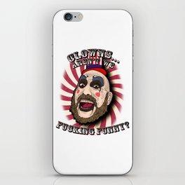 Captain spaulding | devils rejects iPhone Skin